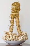 Mazzo dell'aglio Fotografia Stock Libera da Diritti