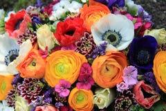 Mazzo della primavera nei colori luminosi Fotografia Stock Libera da Diritti