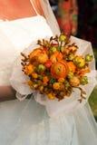 Mazzo della sposa Fotografie Stock