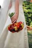 Mazzo della sposa Fotografia Stock