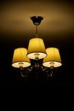 mazzo della Tre-lampada (ritratto) Fotografia Stock