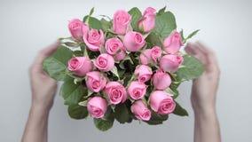 Mazzo delle rose 8 stock footage