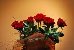 Mazzo delle rose Fotografie Stock Libere da Diritti