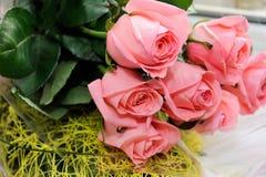 Mazzo delle rose decorate Fotografia Stock Libera da Diritti
