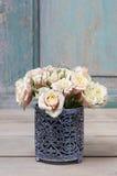 Mazzo delle rose dentellare Fotografia Stock