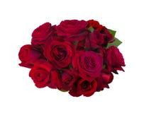 Mazzo delle rose rosse Immagine Stock Libera da Diritti