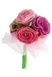Mazzo delle rose rosse e rosa Fotografia Stock Libera da Diritti