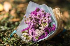Mazzo delle rose sul vostro giorno delle nozze Immagini Stock