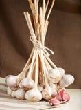 Mazzo di aglio Fotografia Stock
