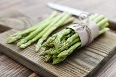 Mazzo di asparago fotografie stock