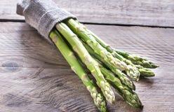 Mazzo di asparago fresco Fotografia Stock