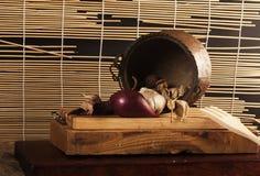 Mazzo di attrezzatura della cucina Fotografia Stock Libera da Diritti