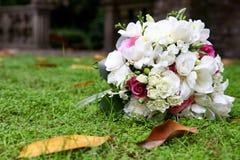 Mazzo di autunno di nozze fotografia stock libera da diritti