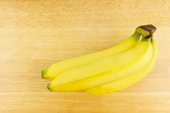Mazzo di banana matura Immagine Stock