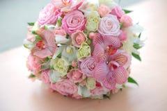 Mazzo di bei fiori Fotografie Stock