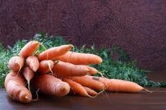 Mazzo di carote Immagine Stock Libera da Diritti