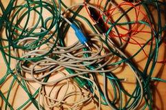 Mazzo di cavi Fotografia Stock