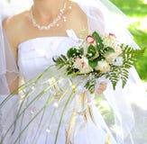 Mazzo di cerimonia nuziale Fotografia Stock Libera da Diritti