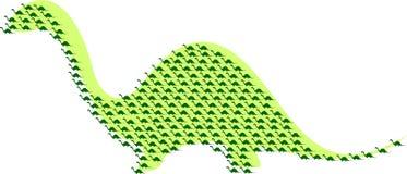 Mazzo di dinos illustrazione vettoriale