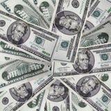 Mazzo di dollari Fotografia Stock