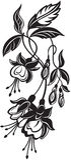 Mazzo di fiori decorativi Fotografia Stock Libera da Diritti