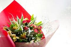 Mazzo di fiori della molla Fotografia Stock Libera da Diritti