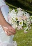 Mazzo di fiori della sposa Fotografia Stock Libera da Diritti