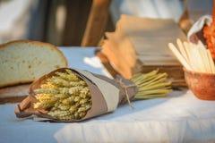 Mazzo di grano fotografie stock