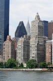 Mazzo di grattacieli Immagini Stock Libere da Diritti