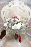 Mazzo di inverno di nozze Fotografia Stock