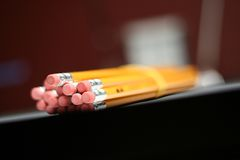 Mazzo di matite Fotografia Stock Libera da Diritti