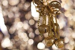 Mazzo di Natale di palloni Immagini Stock