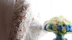 Mazzo di nozze stock footage