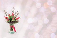 Mazzo di nozze dei tulipani Fotografia Stock