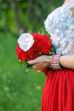 Mazzo di nozze della sposa Fotografia Stock Libera da Diritti