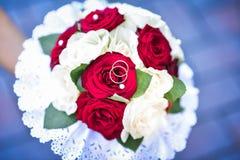 Mazzo di nozze della sposa Fotografia Stock