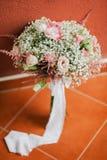 Mazzo di nozze nello stile cremoso di arti Fotografia Stock
