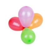 Mazzo di palloni fotografia stock libera da diritti