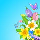 Mazzo di Pasqua illustrazione vettoriale
