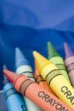 Mazzo di pastelli Fotografie Stock