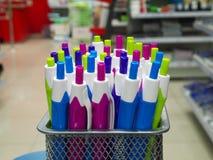 Mazzo di penne Fotografia Stock Libera da Diritti
