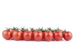 Mazzo di pomodori di ciliegia Immagini Stock Libere da Diritti