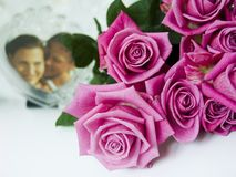 mazzo di rosa Immagini Stock