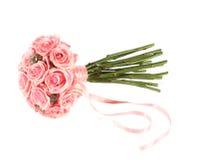 Mazzo di rosa di colore rosa Fotografia Stock Libera da Diritti