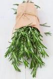 Mazzo di rosmarini freschi fotografie stock libere da diritti