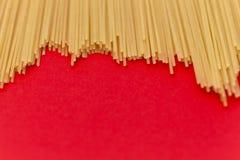 Mazzo di spaghetti Fotografie Stock