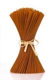 Mazzo di spaghetti del pepe Fotografia Stock
