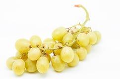 Mazzo di uva bianca Fotografie Stock Libere da Diritti