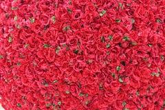 Mazzo enorme delle rose rosse Immagine Stock