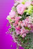 Mazzo fatto a mano dei fiori Fotografia Stock